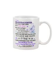 To my Granddaughter from Grandma Mug front