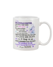 To my Granddaughter from Nonni Mug front