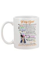 To my Dad Coffee Mug back
