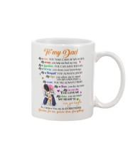 To my Dad Coffee Mug front