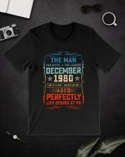 40th Birthday December 1980 Man Myth Legends Classic T-Shirt lifestyle-mens-crewneck-front-16