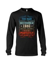 40th Birthday December 1980 Man Myth Legends Long Sleeve Tee tile