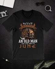 Never Underestimate June Old Man Classic T-Shirt lifestyle-mens-crewneck-front-16