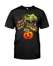TRICK RAWR TREAT T-REX Classic T-Shirt front