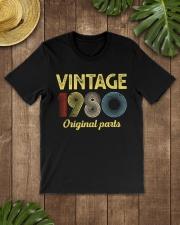 40th Birthday Gift T-Shirt - Retro Birthday Classic T-Shirt lifestyle-mens-crewneck-front-18