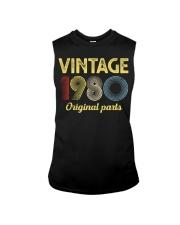 40th Birthday Gift T-Shirt - Retro Birthday Sleeveless Tee tile