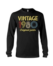 40th Birthday Gift T-Shirt - Retro Birthday Long Sleeve Tee tile