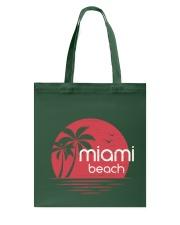 Miami Beach City Tote Bag tile