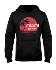 Miami Beach City Hooded Sweatshirt tile