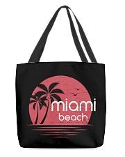 Miami Beach City All-Over Tote tile