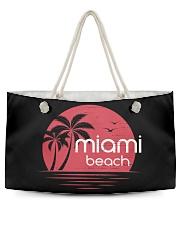 Miami Beach City Weekender Tote tile