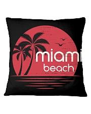 Miami Beach City Square Pillowcase tile
