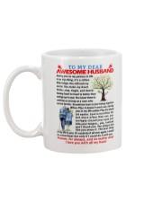 Dear Husband Mug back