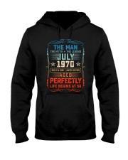 50th Birthday July 1970 Man Myth Legends Hooded Sweatshirt tile