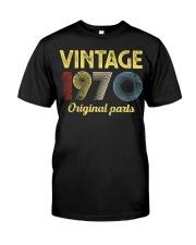 50th Birthday Gift T-Shirt - Retro Birthday  Classic T-Shirt front