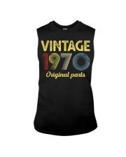 50th Birthday Gift T-Shirt - Retro Birthday  Sleeveless Tee tile