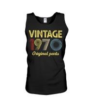 50th Birthday Gift T-Shirt - Retro Birthday  Unisex Tank tile