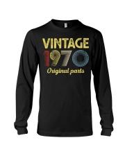 50th Birthday Gift T-Shirt - Retro Birthday  Long Sleeve Tee tile
