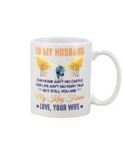 To my Husband Coffee Cup Mug front