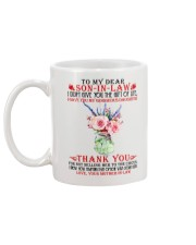 Dear Son-in-law from Mother-in-law Mug back
