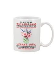 Dear Son-in-law from Mother-in-law Mug front