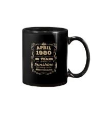 April 1980 Sunshine Mixed With A Little Hurricane Mug tile