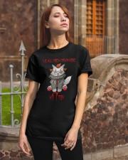 Clown Cat Kitten Classic T-Shirt apparel-classic-tshirt-lifestyle-06