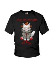 Clown Cat Kitten Youth T-Shirt tile