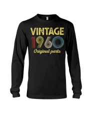 60th Birthday Gift T-Shirt - Retro Birthday Long Sleeve Tee tile