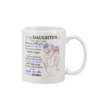 To my daughter from momma Mug front