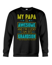 MY PAPA IS AWESOME Crewneck Sweatshirt tile
