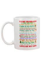 Christmas for Husband Mug back