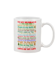 Christmas for Husband Mug front