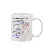 To my daughter Mug front
