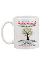 Daughter-in-law Christmas Mug back
