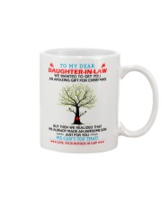 Daughter-in-law Christmas Mug front