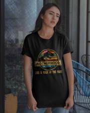 Motherhood T-rex Classic T-Shirt apparel-classic-tshirt-lifestyle-08