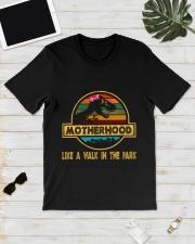 Motherhood T-rex Classic T-Shirt lifestyle-mens-crewneck-front-17