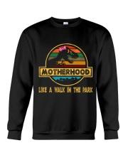Motherhood T-rex Crewneck Sweatshirt tile