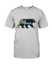 Women's Mama Bear Floral Classic T-Shirt front
