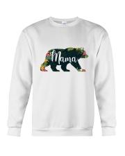 Women's Mama Bear Floral Crewneck Sweatshirt tile