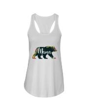 Women's Mama Bear Floral Ladies Flowy Tank tile
