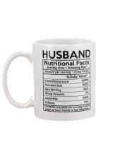 Husband Nurtrition Facts Mug back