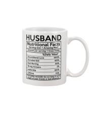Husband Nurtrition Facts Mug front