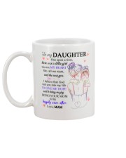 To my daughter from mam Mug back