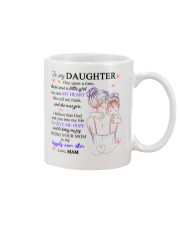 To my daughter from mam Mug front