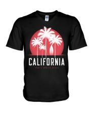 California City V-Neck T-Shirt tile