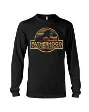 FATHERHOOD - Like a walk in the park Long Sleeve Tee tile