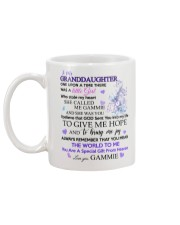 To my Granddaughter from Gammie Mug back