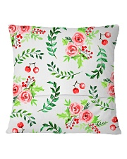 To my dear Daughter-in-law Square Pillowcase back